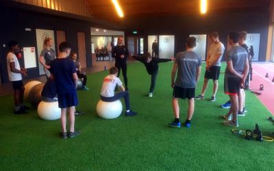 Training bij PRO-F fysiotherapie